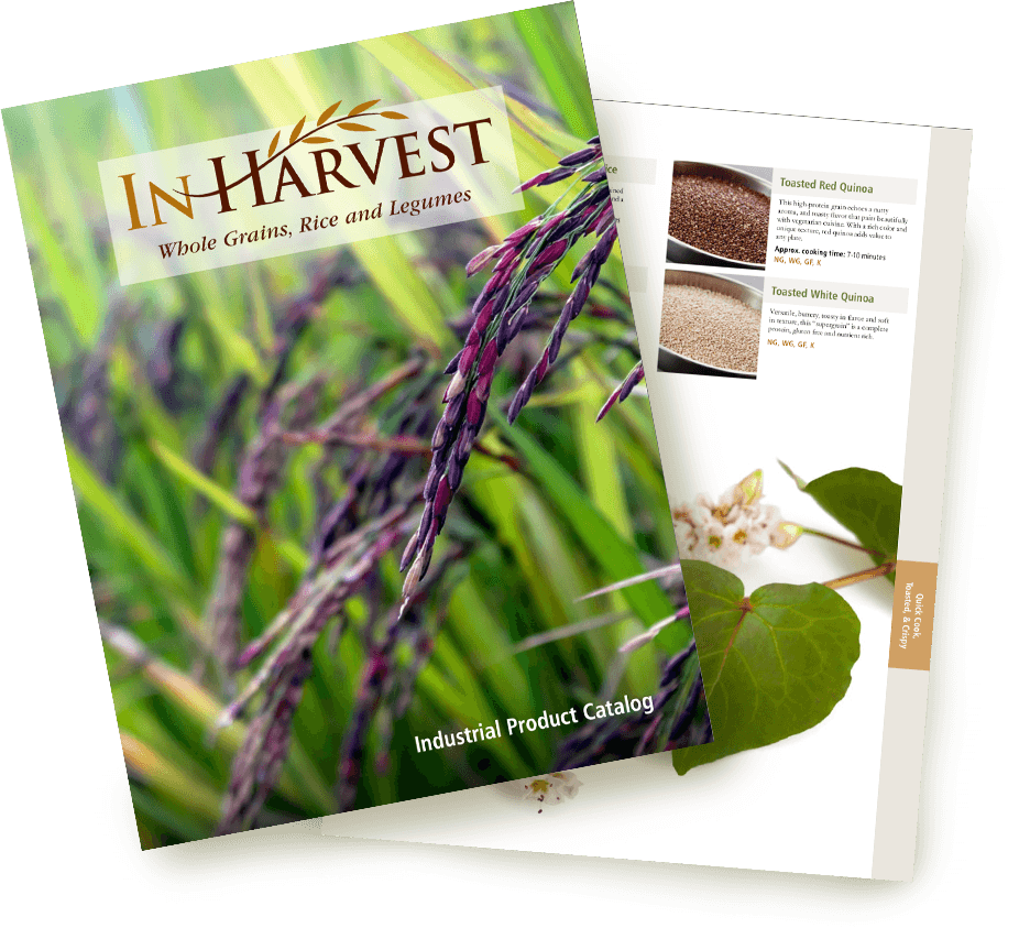 InHarvest ingredients product catalog@